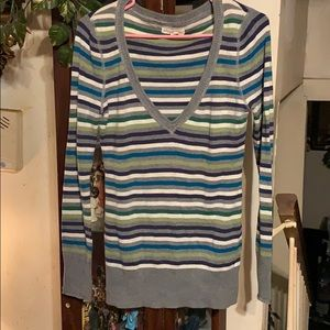 Sz lg stripes sweater by Aeropostale